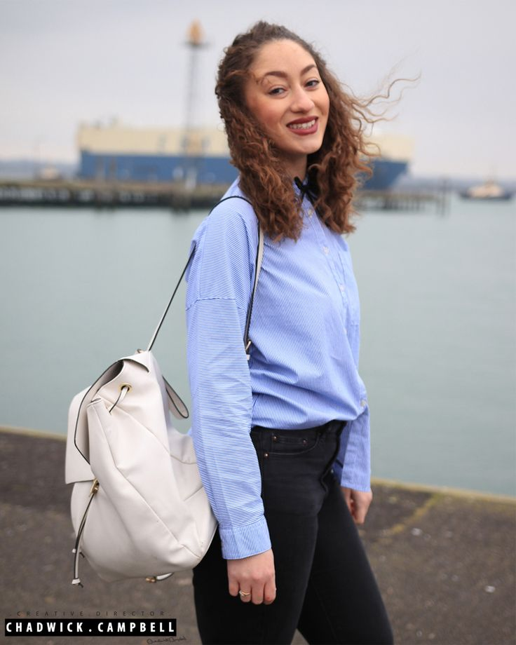 Laura's Lookbook  Shirt - Zara Jeans - Topshop Backpack - Zara Make Up - Mac & Bobbi Brown  Beauty, Fashion, Vlogger, Blogger, Southampton, Stylist, Designer, Design, Instagram, YouTube