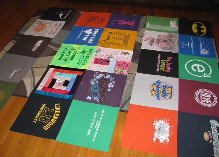 How to Make a T-shirt Quilt - Part 1 In Part 1, we'll discuss making a very basic t-shirt quilt with no sashing between t-shirts, no batting, a microfleece (or other fabric) backing, and no binding. In Part 2, we'll discuss other options and creative touches. Supplies: Baby Lock Sewing Machine T-shirts Lightweight Fusible Interfacing …