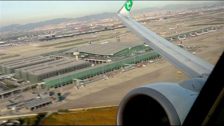 Aeropuerto de Barcelona: Despegue Boeing 737 de Transavia
