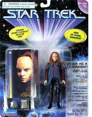 Star Trek Series 4 > Seska as Cardassian Action Figure @ niftywarehouse.com #NiftyWarehouse #StarTrek #Trekkie #Geek #Nerd #Products