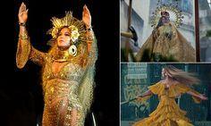 Was the goddess Oshun Beyonce's Grammy Award inspiration?