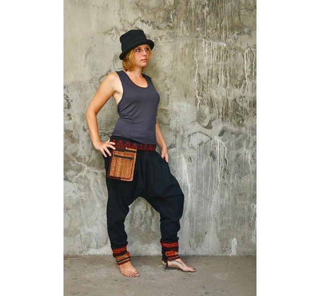 virblatt - Pantalón de Harem Klangkörper - Pantalones cagados - Pantalones