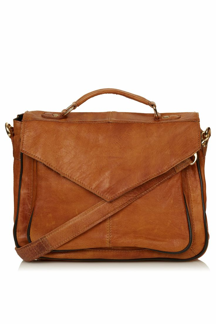 Goes With Everything This bag is simple but there's also plenty going on: it's got the classic satchel shape, but also has a kind of envelope vibe. We think this color is utterly seasonless, so bonus points there.  $130 at Topshop.