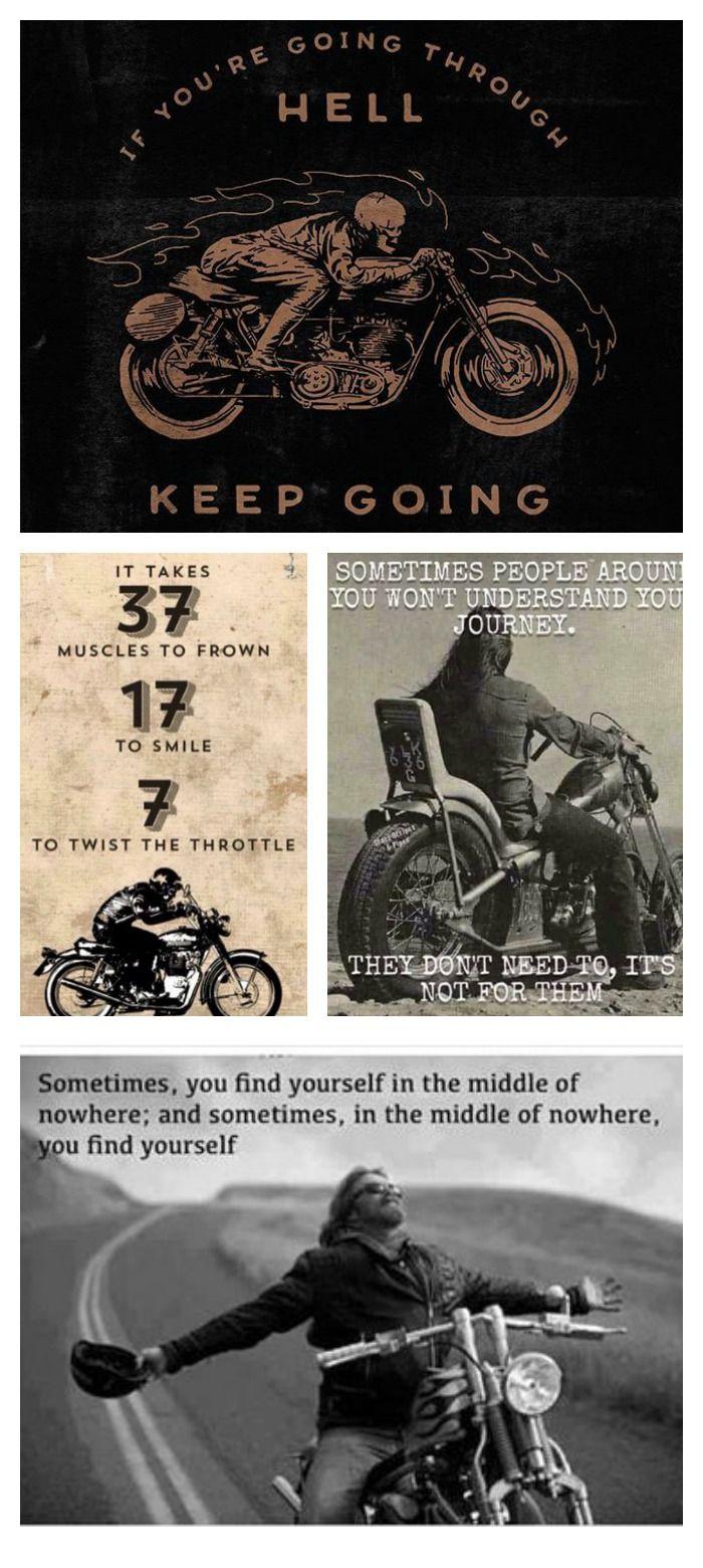 Best 25+ Biker Quotes Ideas On Pinterest | Motorcycle ...
