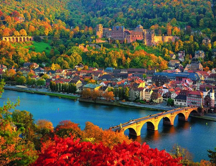 Old Bridge And Castle In Heidelberg Germany One Of The Most Beautiful Cities Ever Culture