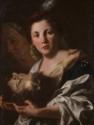 Gaspare Traversi (Italian, 1722-1770). Judith with the Head of Holofernes, 1760. The University of Michigan Museum of Art, Michigan. Gift of the Friends of the Museum of Art, 1996. http://www.umma.umich.edu