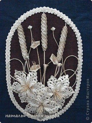 Поделка изделие Плетение Моя соломка Соломка фото 2
