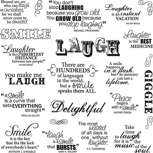 Fiskars Laugh With Me 8x8 Quote Clear Stamps Fiskar 8 X8