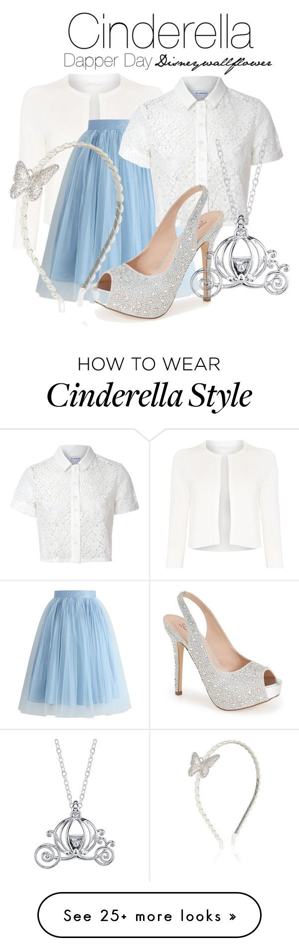 """Cinderella- Dapper Day"" by disneywallflower on Polyvore featuring HUGO, Chicwish, Glamorous, Lauren Lorraine, Disney and Monsoon"