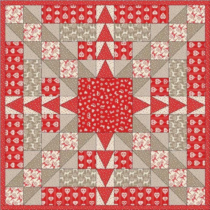 Criss-Cross Celebration Quilt Pattern AV-147 (intermediate, wall hanging, lap and throw)