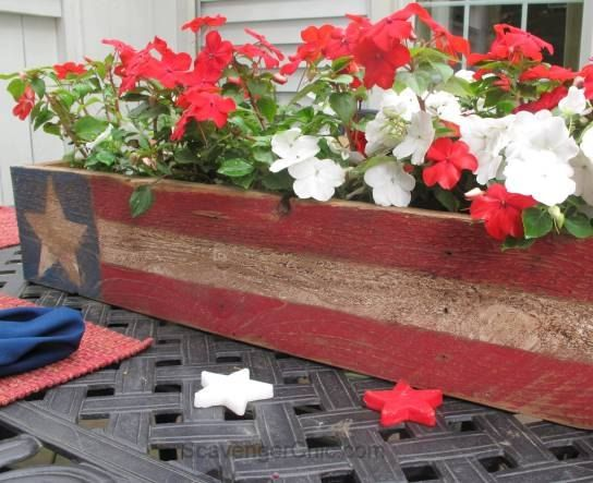 This project is part of  the Junk Revision Challenge, a monthly blog hop to transform junk into something better. This month's theme is Patriotic. [media_id:342…