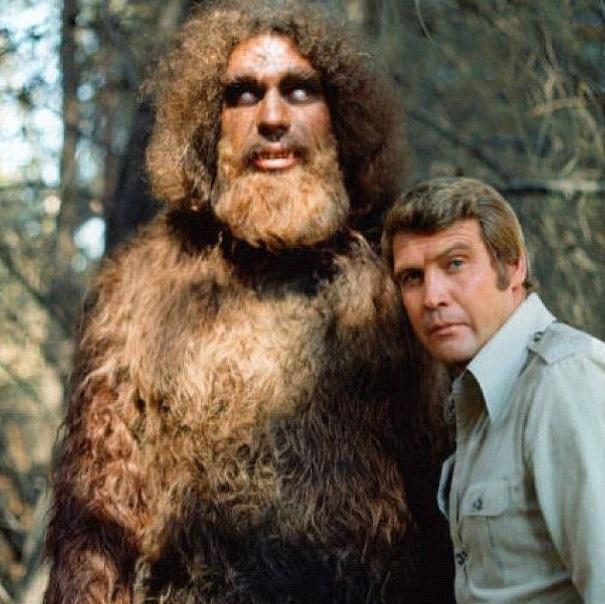 Steve Austin and Bigfoot