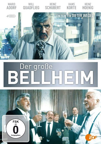 Der große Bellheim: Mario Adorf, Will Quadflieg, Heinz Schubert