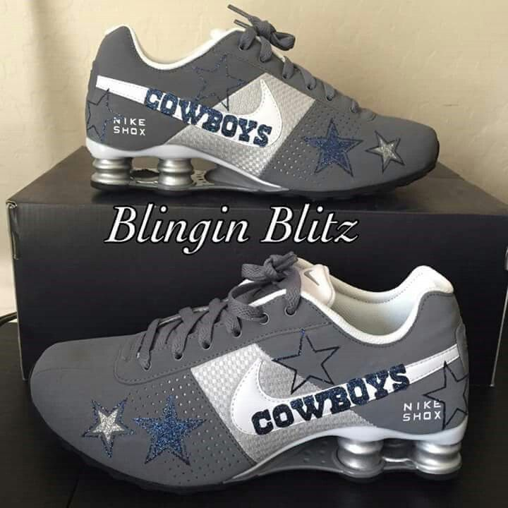 Beautiful Dallas Cowboy Shoes!!!!!!!!