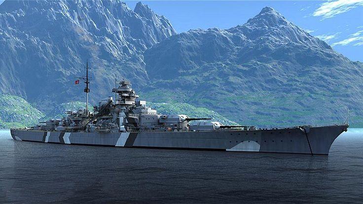 KSM Bismarck - Corazzata - Dislocamentoa vuoto: 41.700 t (di cui il 40% dedicato alle corazze) a pieno carico: 50.900 t Lunghezza sulla linea di galleggiamento: 241 m complessivo: 251 m Larghezza 36 m Pescaggiostandard: 8,7 m a pieno carico: 10,2 m Propulsione3 caldaie a coppie modello Wagner, 3 assi d'elica (140.000 HP di progetto, 150.170 HP effettivi) Velocità30.5 nodi Autonomia 17.200 km a 16 nodi Equipaggio 2.100 (103 ufficiali)