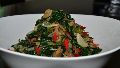 Yuk kita coba resep masakan tumis daun pepaya.
