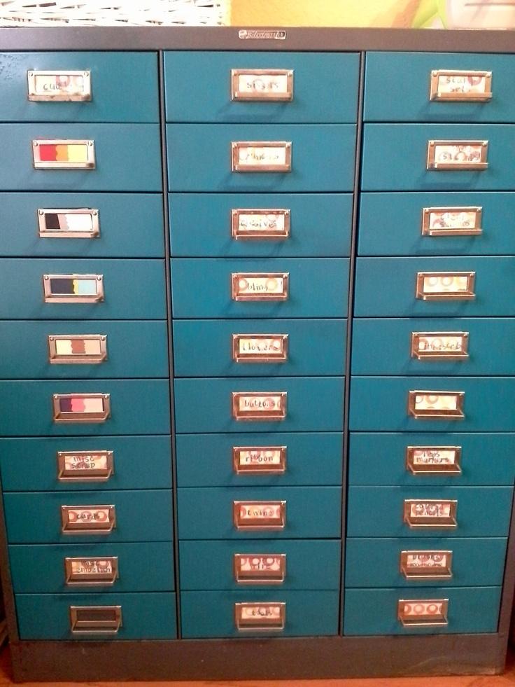 New 33 Drawer Metal Cabinet