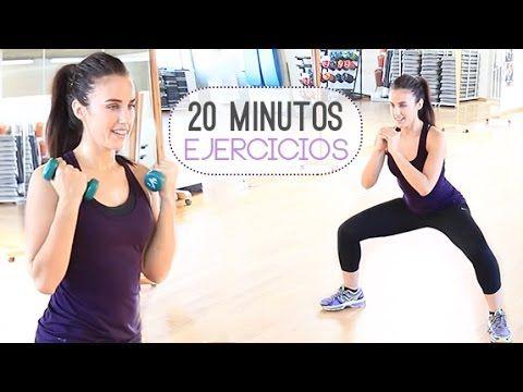 Rutina de 20 minutos para tonificar todo el cuerpo
