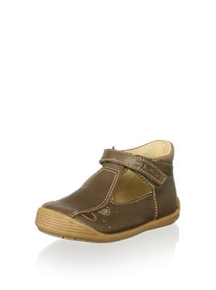 61% OFF Nens Kid's Hook-and-Loop Sandal Bootie (Brown)