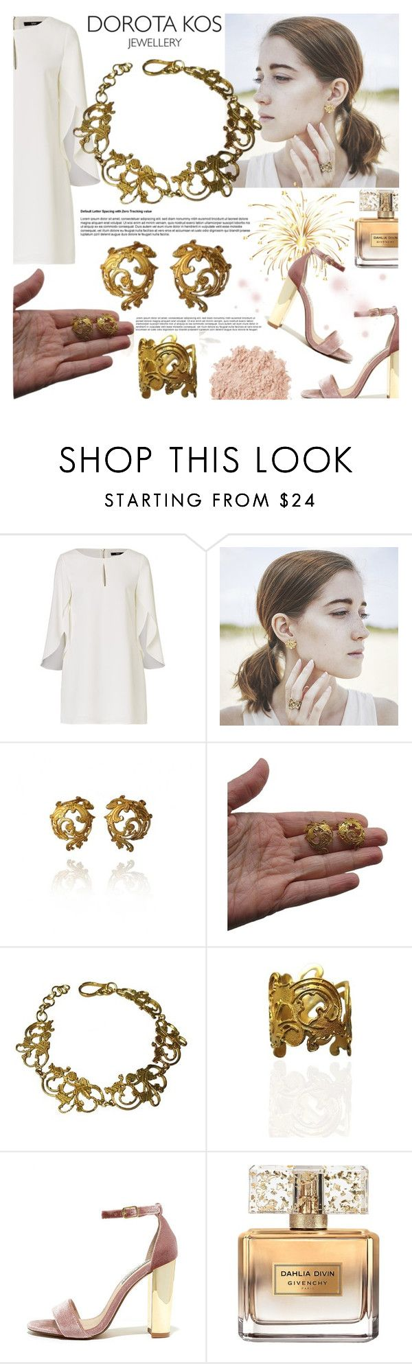 """DOROTA KOS JEWELLERY"" by gaby-mil ❤ liked on Polyvore featuring Steve Madden, Givenchy, La Mer, jewellery and dorotakos"