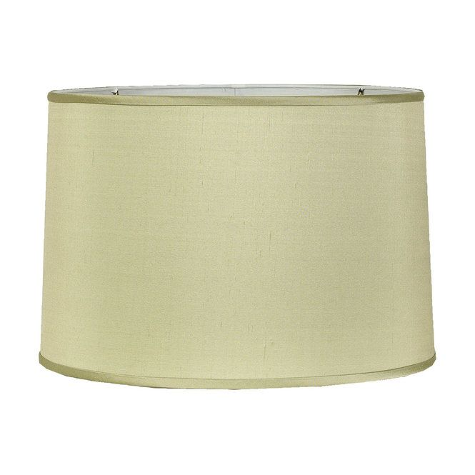 Pistachio Green Velvet Lamp Shades