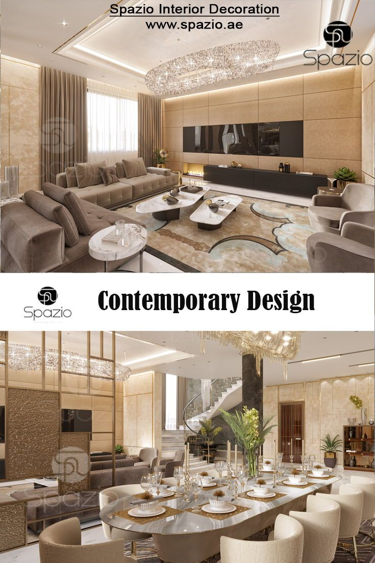 Villa Interior Design In Dubai With Images Luxury House