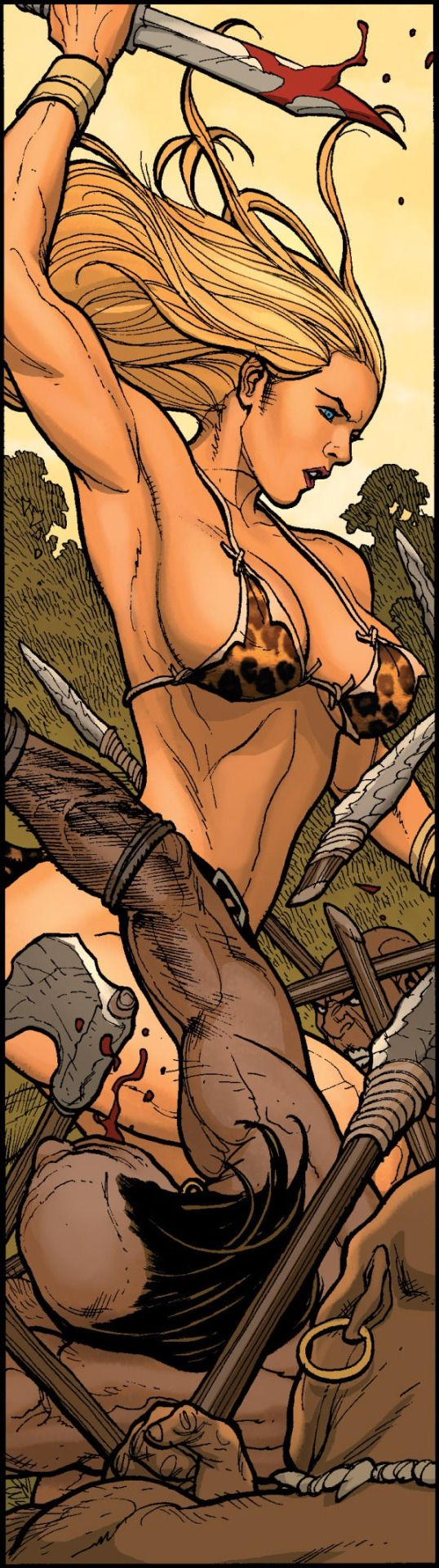 Hot Jungle Cartoon Girl Photo XxX