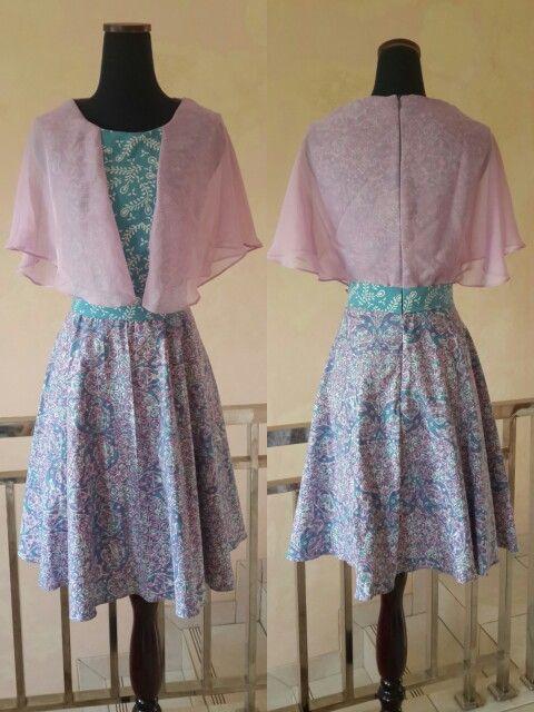 Batik day dress