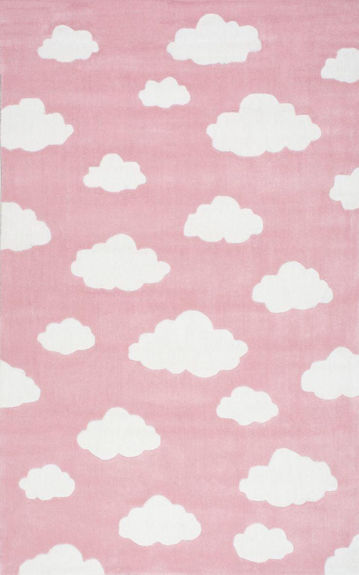 Cloudy Sachiko Pink Area Rug