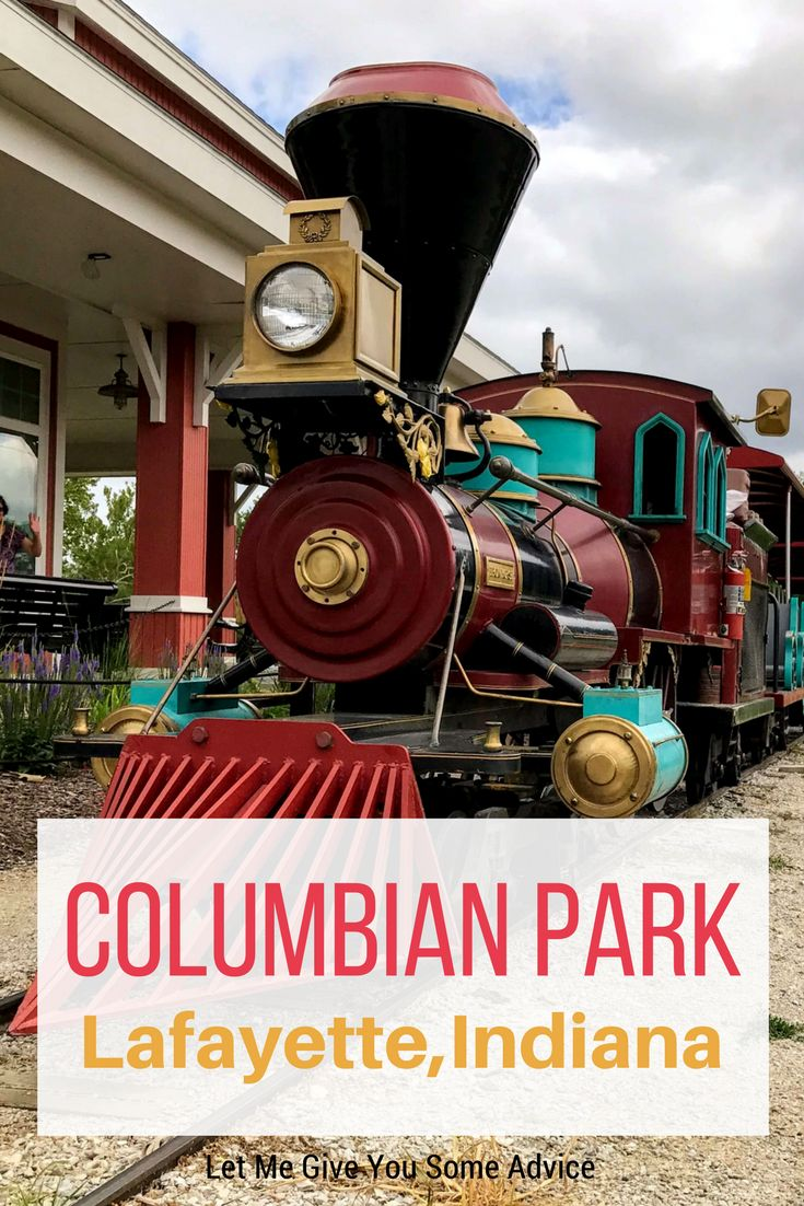 Columbian Park in Lafayette, Indiana is home to a zoo, water park, baseball stadium, and more. Your family will need a whole day to explore this park! via @someadvice