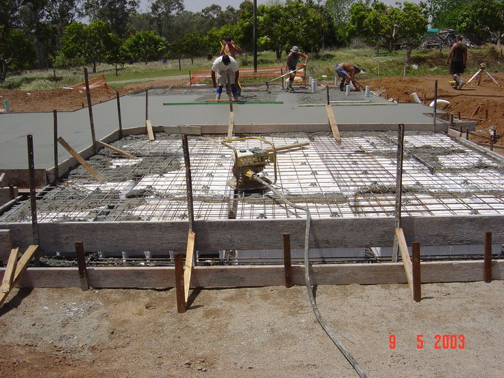 169 best images about build on pinterest hanging drywall for Types of slabs for house