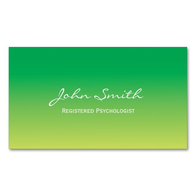 The 2138 best psychology psychologist business cards images on green gradient psychologist business card this great business card design is available for customization colourmoves