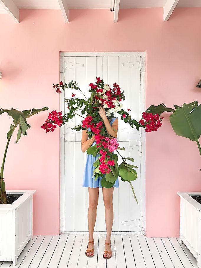 mystery flower girl