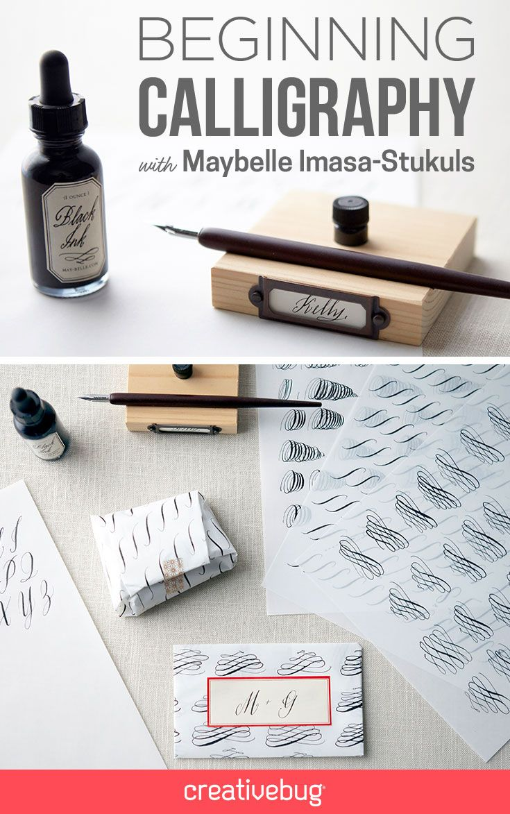Beginners Calligraphy — Surrey Art School