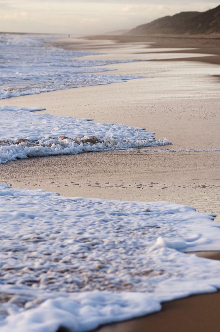 As the tide rolls in
