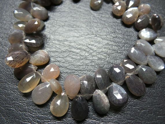 Classy Exquisite Natural African Multi Moonstone 9 by StarGemBeads