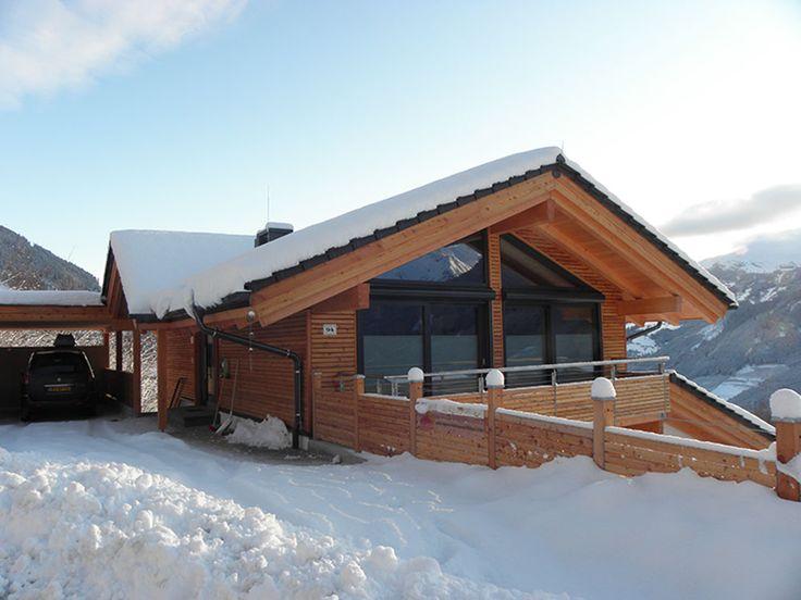 Snow-filled Carport at Appartement Smaragd   Alpenchalet am Wildkogel   Bramberg am Wildkogel   Austria