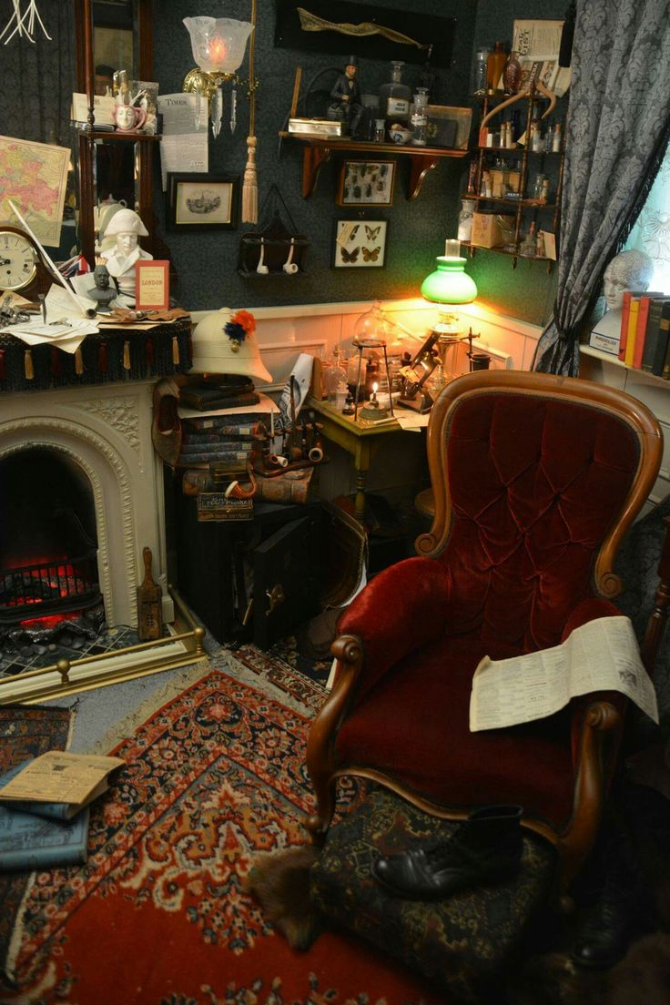Living room victorian pinterest baker street sofas and 221b - 221b Baker Street Los Angeles