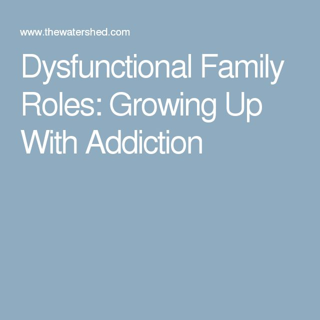 effects of growing up in a dysfunctional family essay Effects of divorce on children each child and each family are obviously unique, with different strengths and weaknesses, different personalities and temperaments, and varying degrees of social, emotional, and economic resources, as well as differing family situations prior to divorce.