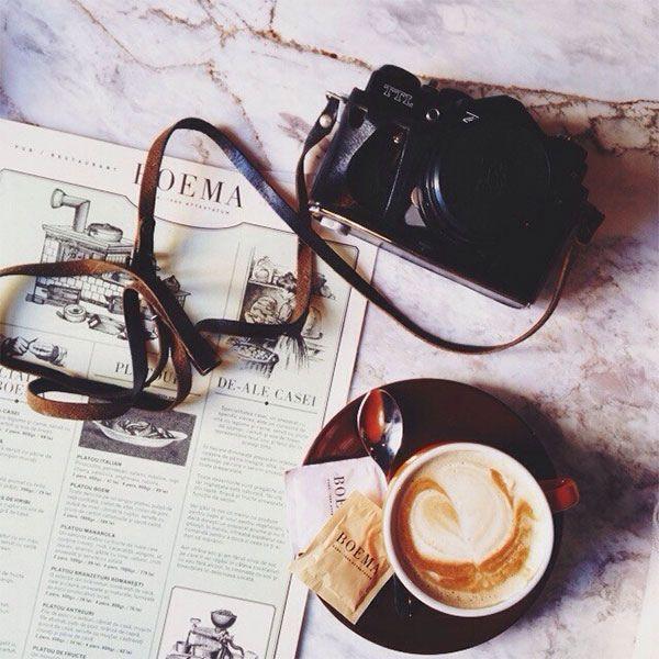 We love morning coffee // LUCY Creative Agency