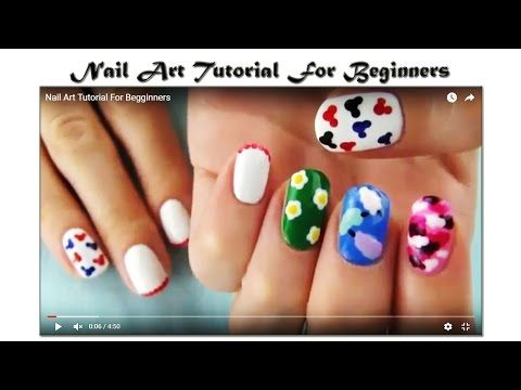 Nail Art Tutorial For Beginners | Makeup Tutorial Channel... See More Here : http://goo.gl/jDA1dc  Hope Your Enjoy! ..... Like, Share, Comment & Subscribe Us!  More Makeup Tutorial Channel videos ... Click Here: https://www.youtube.com/channel/UC3SbRN6zFEgCdnKHZj28B4w  #nailart #nailarttutorial #nailarttutorialvideo