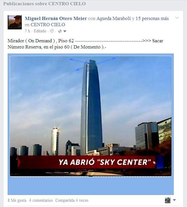 Mirador...!!! Atracción Turistica, Santiago ,CHILE