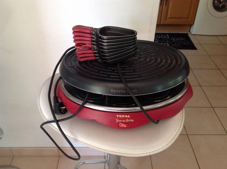 1000 id es sur le th me appareil raclette sur pinterest - Four a raclette tefal ...