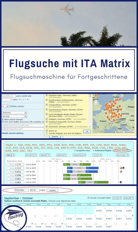 Matrix Airfare Search ist Dein wichtigstes Werkzeug beim Finden von günstigen Flügen. Die Matrix ist so flexibel und mächtig, wie keine andere Flugsuchmaschine. #Backpacking #Reise #Rucksackreise #Weltreise #Reisetipps #Flugsuche #Flugsuchmaschine #Flüge #Flug #Stopover #Spartipp #günstig #sparen #Matrix #ITA #Tipps #Anleitung