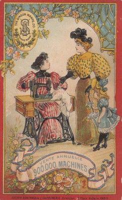 Manifatture Singer, 1880-1900