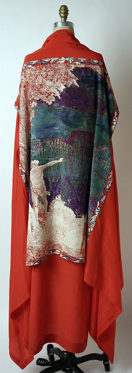 Issey Miyake (Japanese, born 1938)   Design House: Miyake Design Studio   Date: spring/summer 1977   Culture: Japanese   Medium: silk