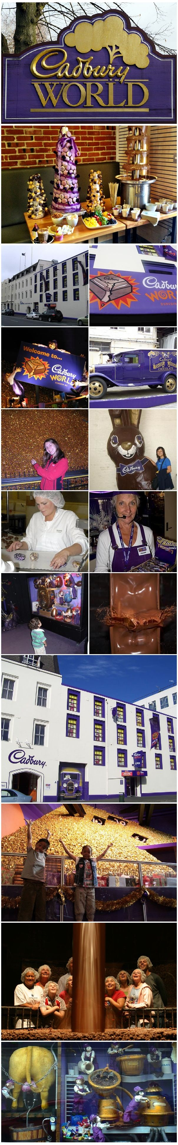 Chocolates Factories - Cadbury World, Dunedin, New Zealand