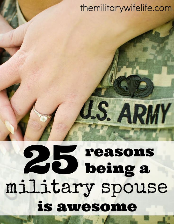 Let's just forget all of the things we hate about military life and focus on the positives for a moment, shall we? // 25 Reasons Being a Military Spouse is Awesome // themilitarywifelife.com