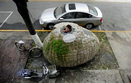 Egg house by dai haifei