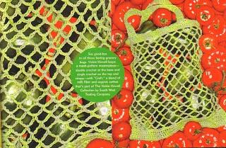 Market Bag for Knit.1 Magazine, Spring '07